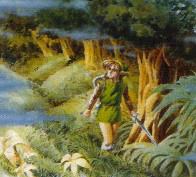 auf der Suche nach dem Master-Schwert in den Verlorenen Wäldern