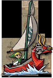 Link und sein Drachenboot