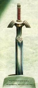 Das Master-Schwet, ein Kult-Gegenstand, der auch in späteren Zelda-Spielen eine wichtige Rolle spielt...