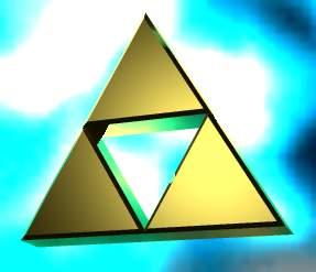 Triforce von mir selbstgemacht ^^