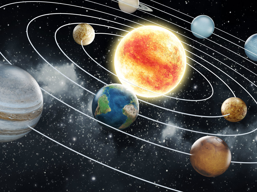 Makrokosmos: Das Sonnensystem
