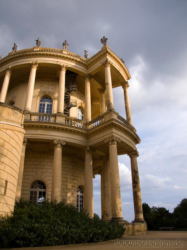 Das Aussichtstürmchen Belvedere