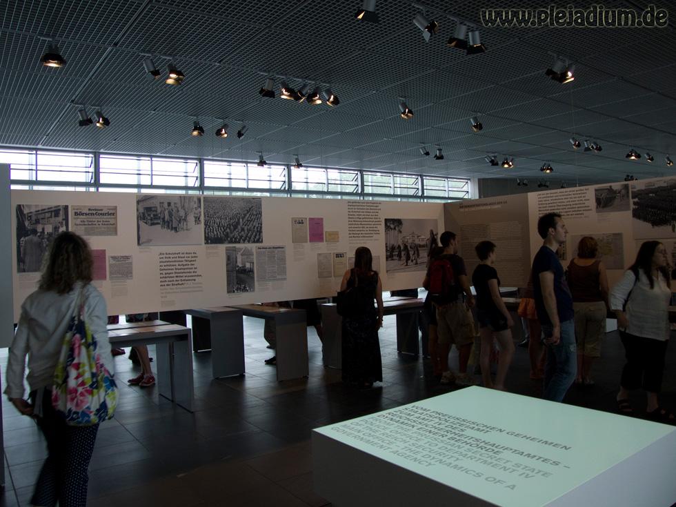 Die Ausstellung von Topographie des Terrors