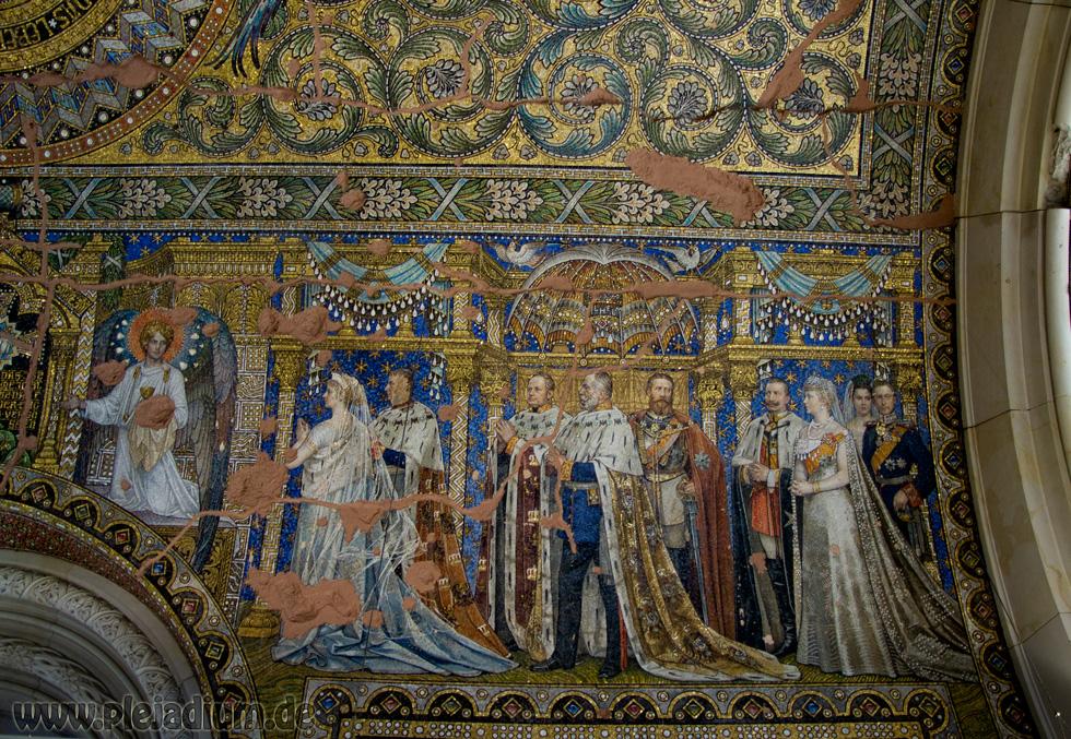 Deckenmosaik in der Kaiser Wilhelm-Gedächtniskirche