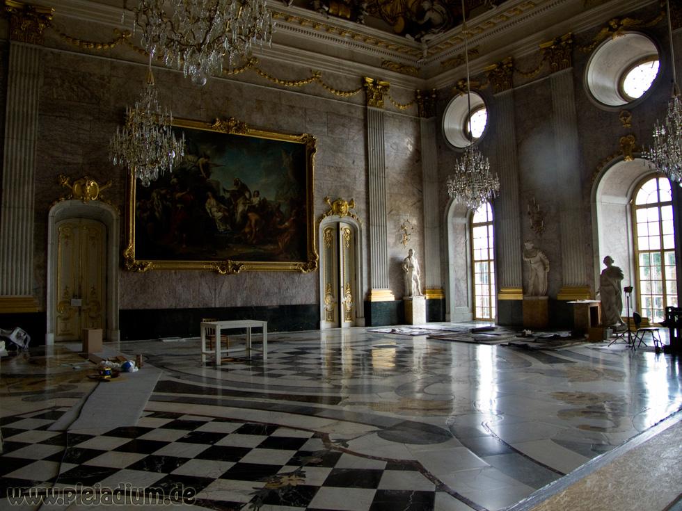Der Große Marmorsaal im Neuen Palais