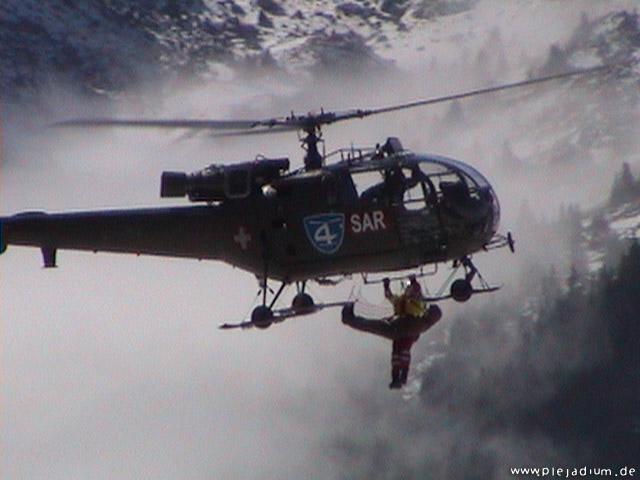 Luftrettung mit Hubschrauber