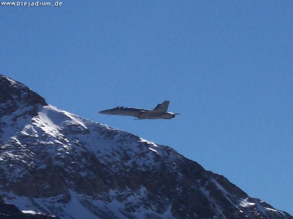 Axalp: Die F/A-18 Hornet