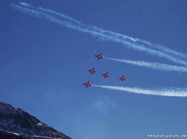 Patrouille Suisse an der Axalp