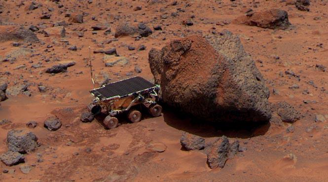 Marsrover der Pathfinder-Mission