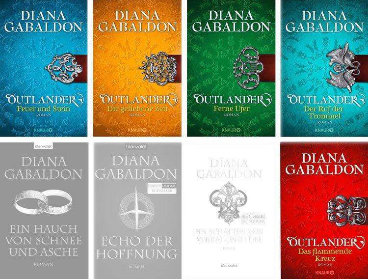 Diana Gabaldon - Highland Saga