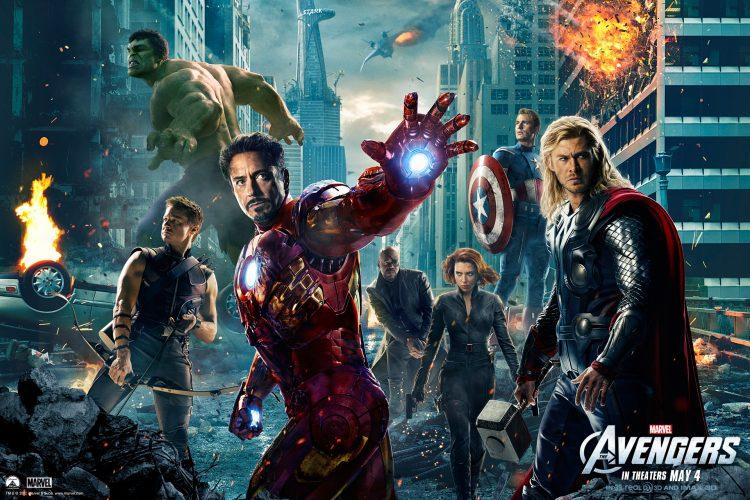 Filmposter: Marvel's The Avengers