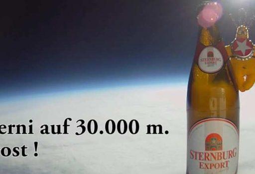Bier im Weltraum
