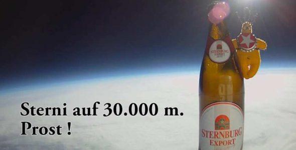Bier im Weltall :D