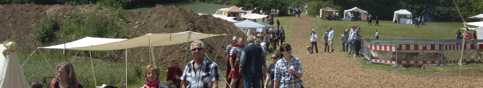 Römerfest auf der Ausgrabung