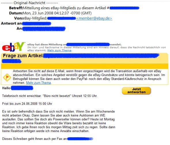 Spaß aus dem Mailfach 2008