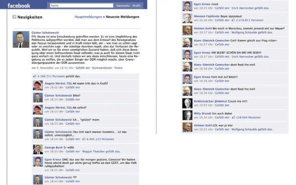DDR auf Facebook