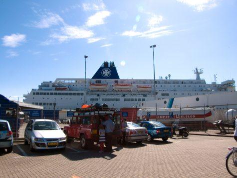 """""""Princess Seaways"""", unsere Fähre nach Nordengland"""