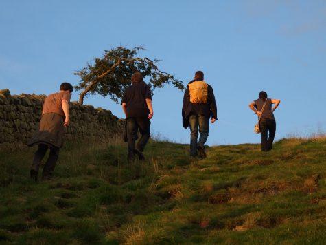 Am Hadrianswall entlang wandern
