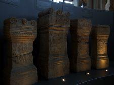 Weihsteine im Museum Glasgow