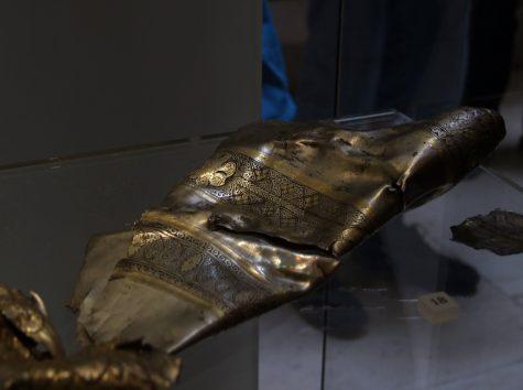 Irgendein archäologisches Teil im Schottischen Nationalmuseum Edinburgh
