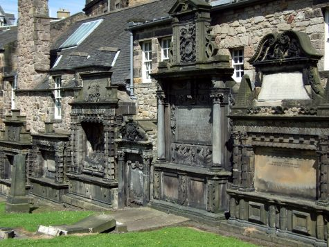 Friedhof in Edinburgh