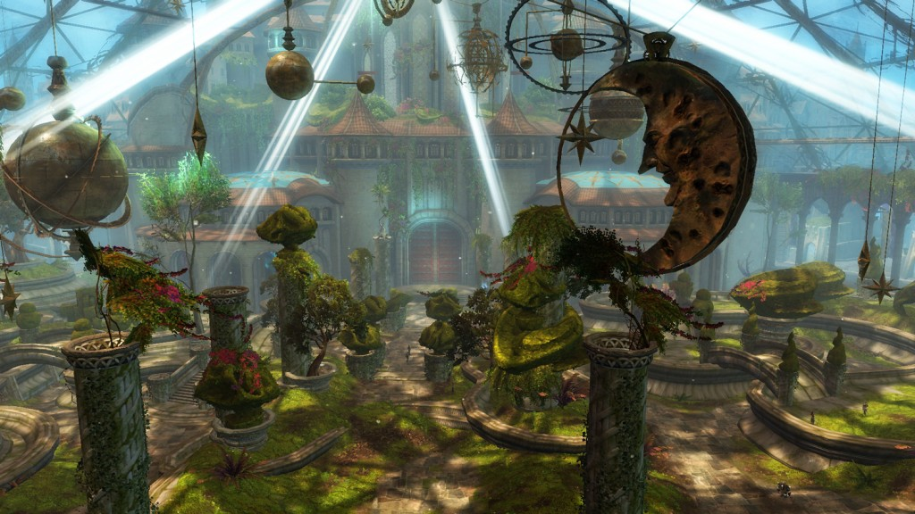 Guild Wars 2 - Garten in Götterfels