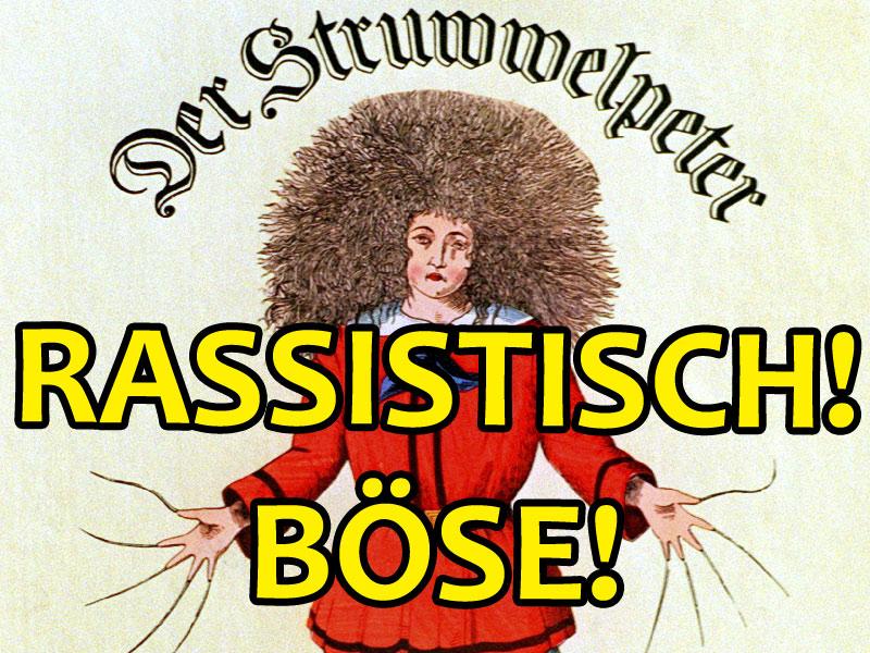 """Der Struwwelpeter - Ebenfalls """"rassistisch"""""""