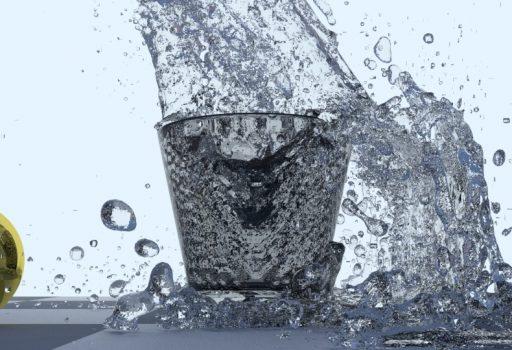 Wassersimulation Blender