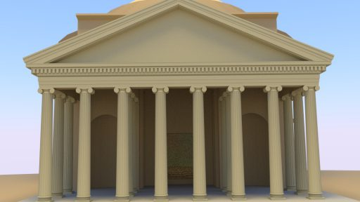 Pantheon 3D Rom Front