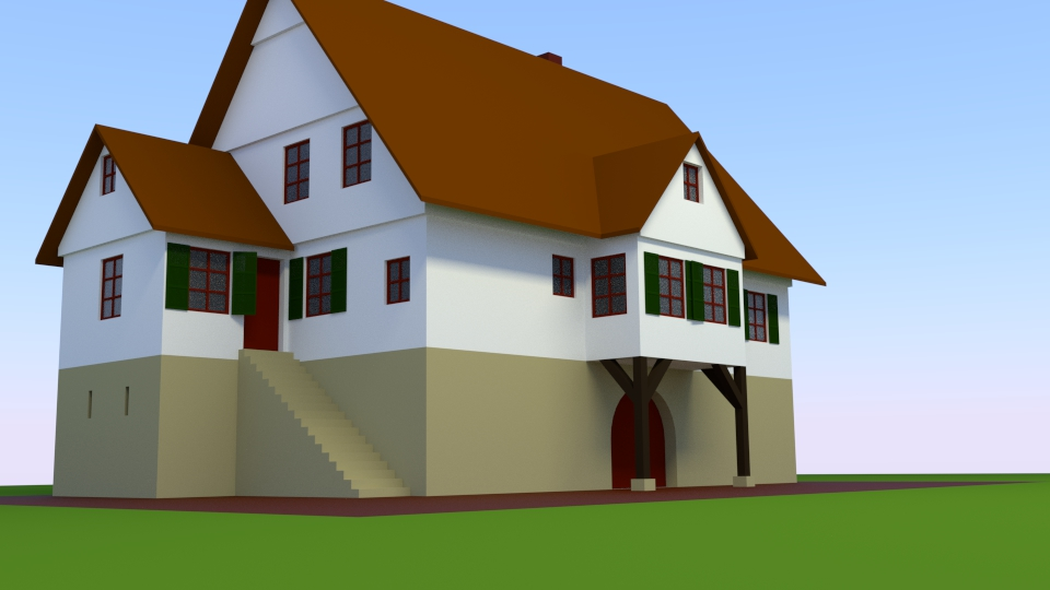 Hausbau 3D