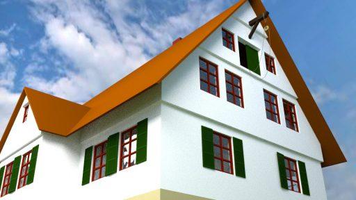 Fachwerkhaus - Ostseite