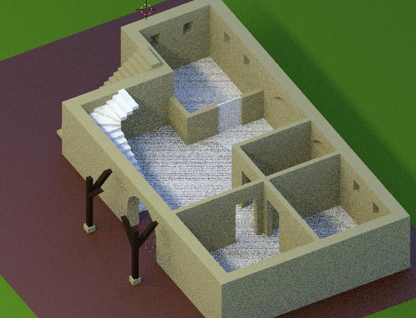 Keller bzw. Erdgeschoss
