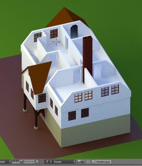Ich baue mir ein altes Haus