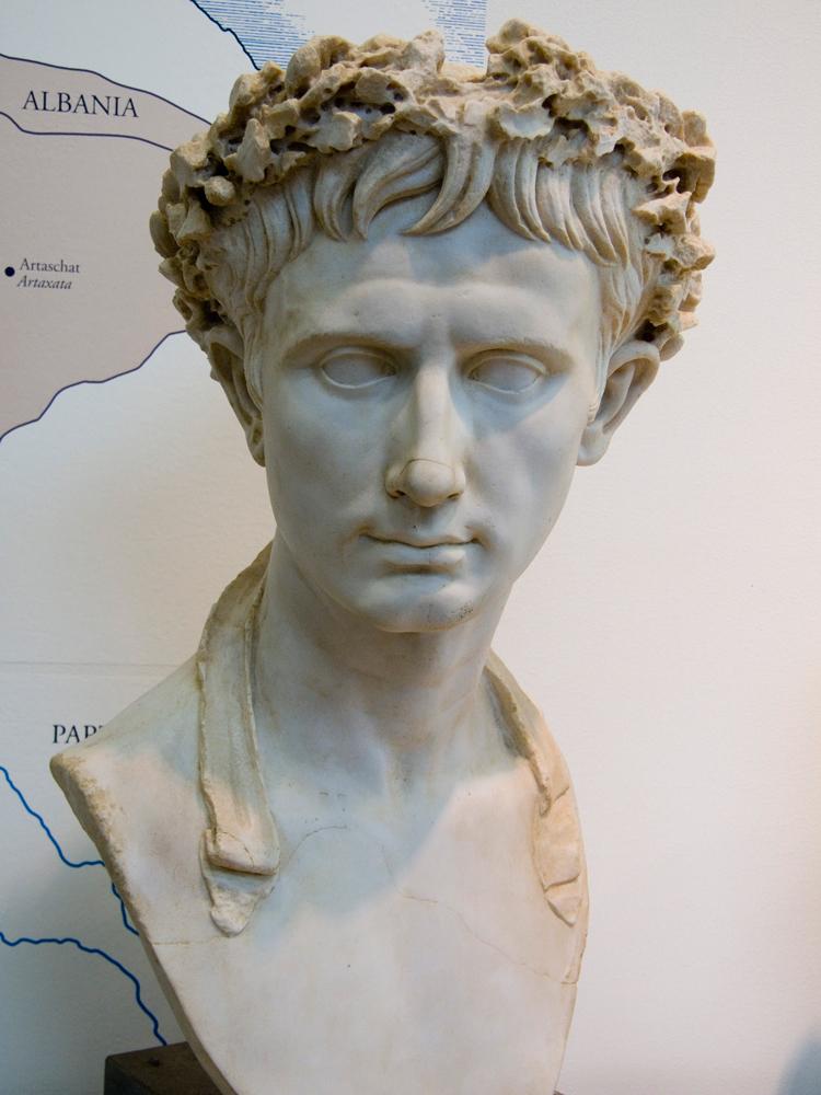 Büste des Augustus in Haltern