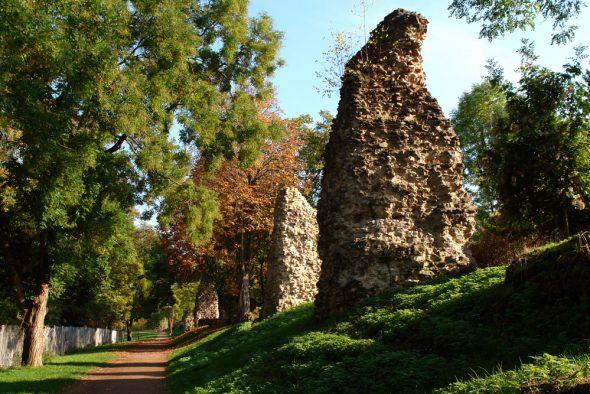 Herbstliches Aquädukt und so