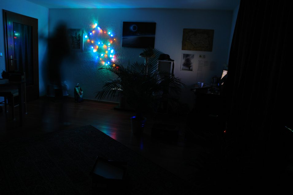 Optimale Beleuchtung für abends!