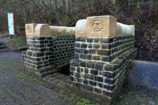 Grüner Pütz an der römischen Eifelleitung