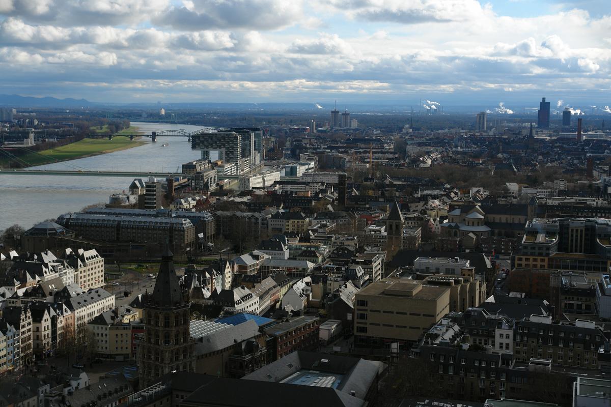 Aquädukttour - Ausblick vom Kölner Dom
