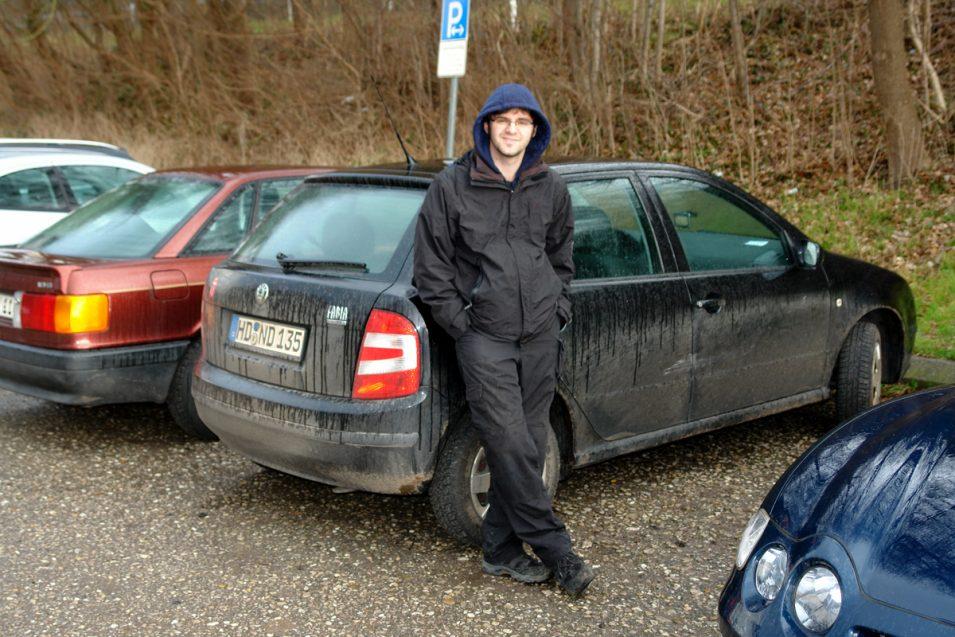Braver Pierre und braves (schmutziges) Auto <3
