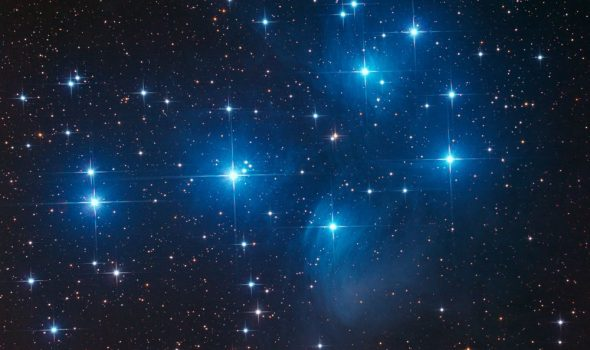 Es ist alles voller Sterne!