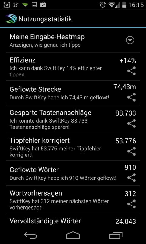 Angeber-Statistiken ^^