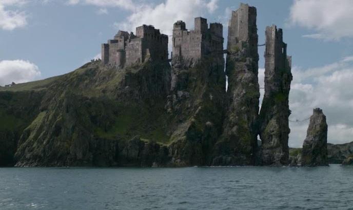 Die Stadt Pyke auf den Eiseninseln (in Game of Thrones)