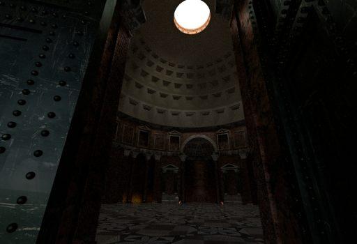 3D Rekonstruktion Pantheon Rom