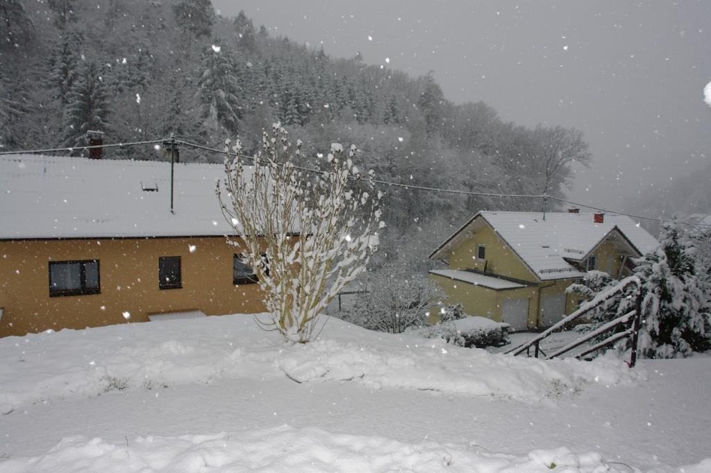 Schnee! <3 Es ist so schön!