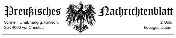 Preußisches Nachrichtenblatt zu Civilization V