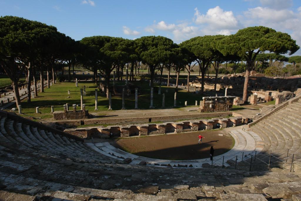 Theater in Ostia Antica