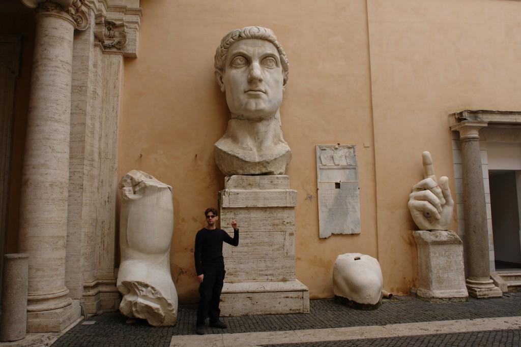 Konstantin der Große ist hier tatsächlich ziemlich groß
