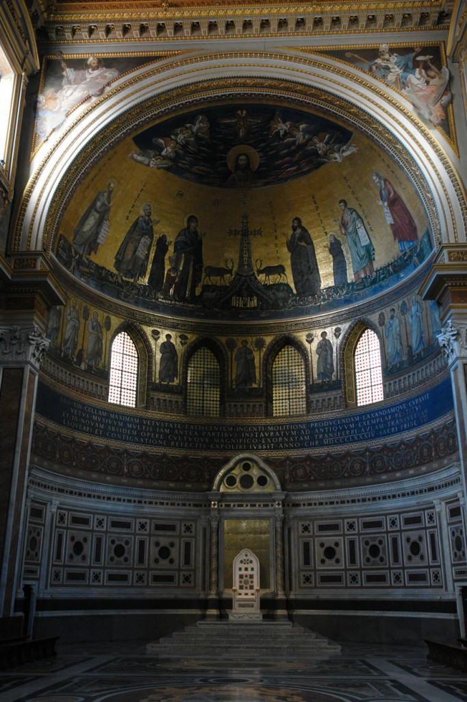 Der heilige Stuhl? San Giovanni in Laterano