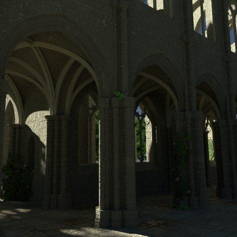 Kathedralenrekonstruktion Blender
