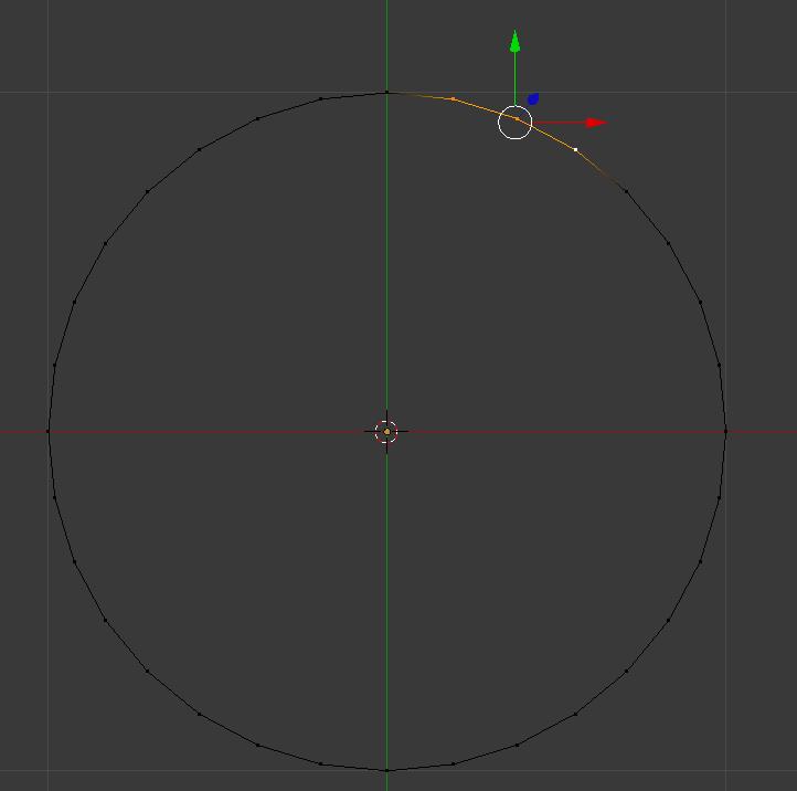 32 Vertices bilden einen Kreis